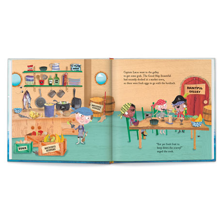 Personalized My Pirate Adventure Children's Book