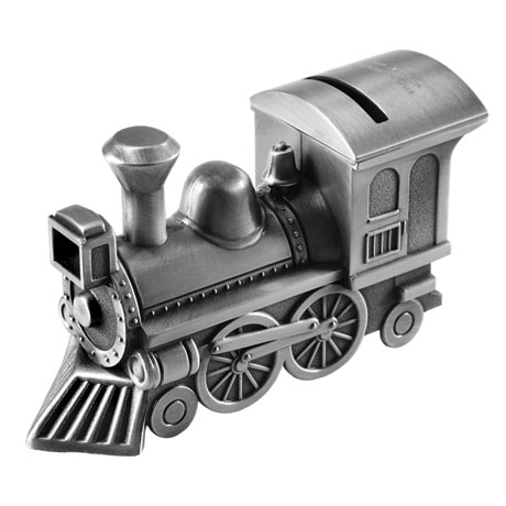 Personalized Train Piggy Bank