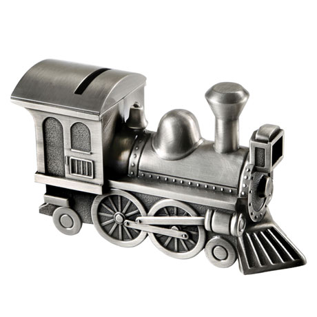 Train Piggy Bank