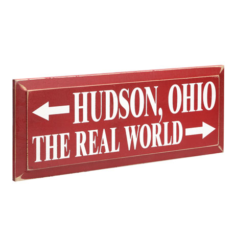 """Personalized """"The Real World"""" Wood Wall Art"""