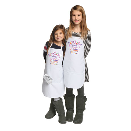 "Personalized Children's ""Princess"" Apron"