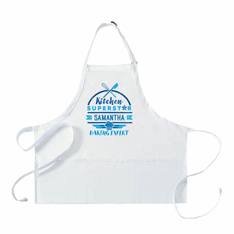 "Personalized Adult's ""Kitchen Superstar"" Apron"