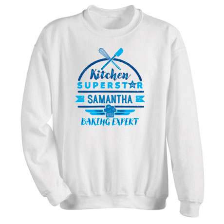 "Personalized ""Kitchen Superstar"" Shirt"