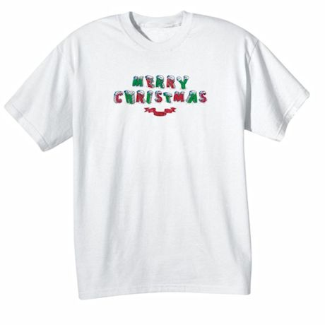 "Children's Color Your Own ""Merry Christmas"" T-Shirt"
