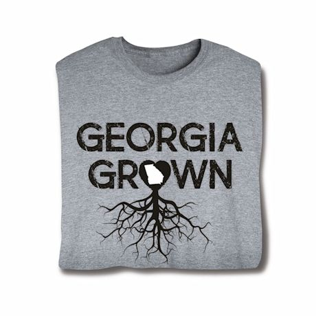 """Homegrown"" T-Shirt - Choose Your State - Georgia"