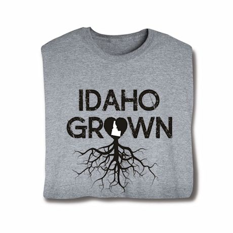 """Homegrown"" T-Shirt - Choose Your State - Idaho"