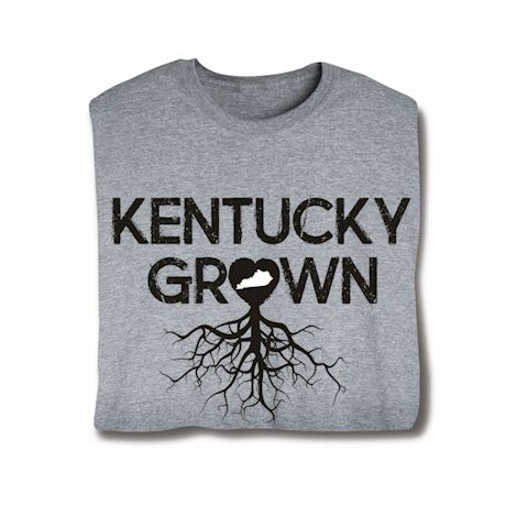 """Homegrown"" T-Shirt - Choose Your State - Kentucky"