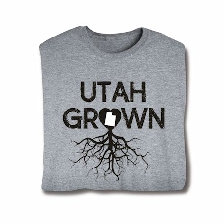 """Homegrown"" T-Shirt - Choose Your State - Utah"