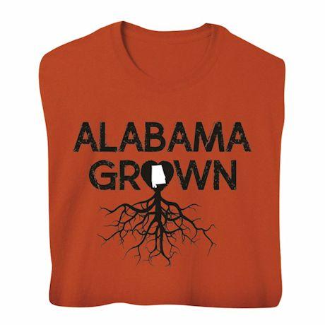 """Homegrown"" T-Shirt - Choose Your State - Alabama"