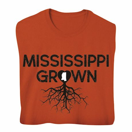"""Homegrown"" T-Shirt - Choose Your State - Mississippi"