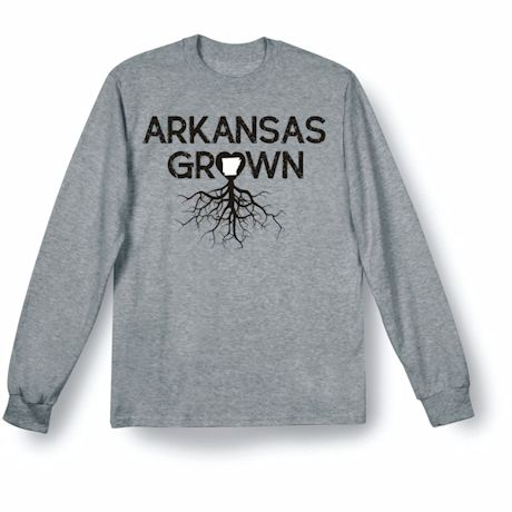 """Homegrown"" T-Shirt - Choose Your State - Arkansas"