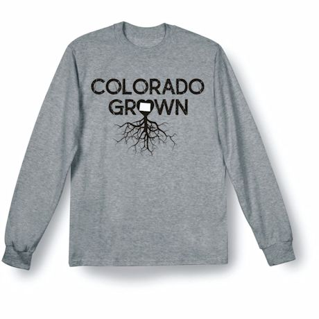 """""""Homegrown"""" T-Shirt - Choose Your State - Colorado"""