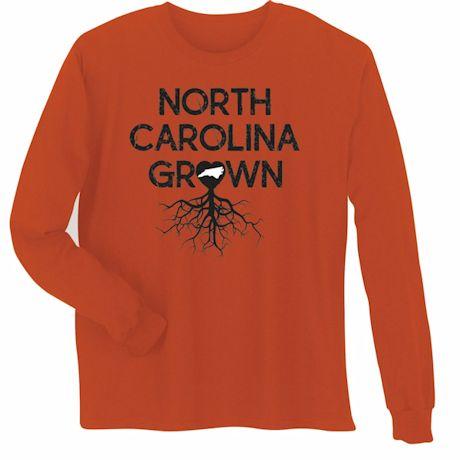 """Homegrown"" T-Shirt - Choose Your State - North Carolina"