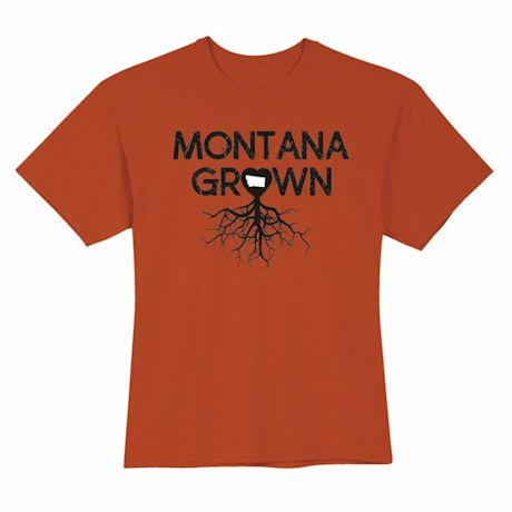 """Homegrown"" T-Shirt - Choose Your State - Montana"