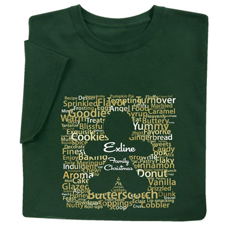 Personalized Gingerbread T-Shirt