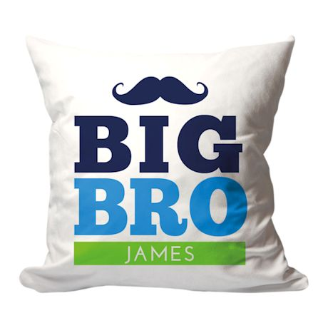 Personalized Big Bro Pillow