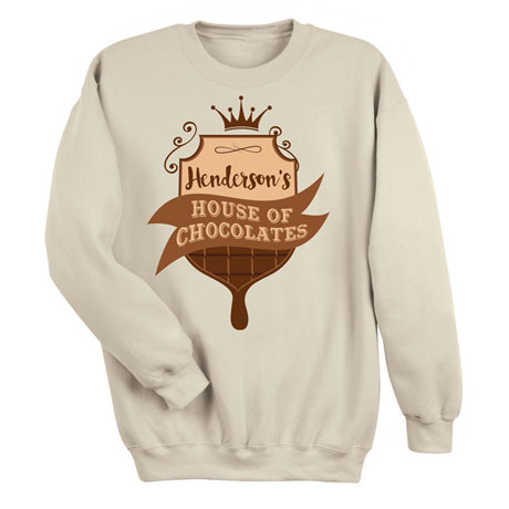 "Personalized ""Your Name"" House of Chocolates Tee"