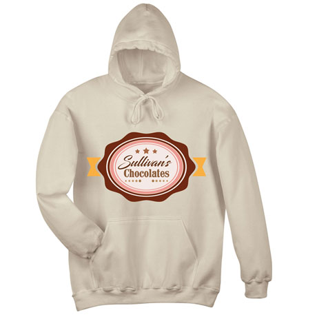"""Personalized """"Your Name"""" Chocolate Tee"""