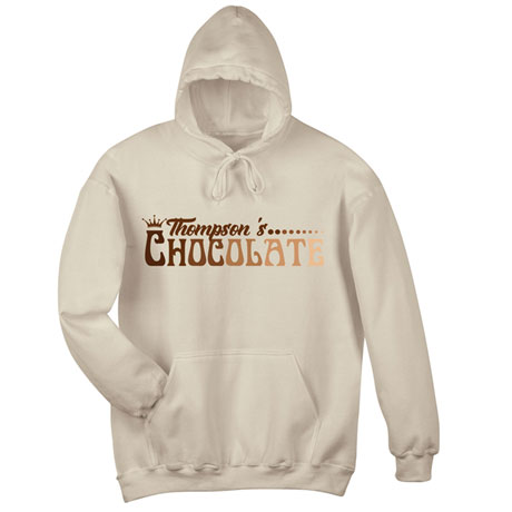"""Personalized """"Your Name"""" Gradient Chocolate Tee"""