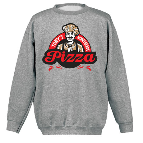 """Personalized """"Your Name"""" Homemade Pizza Tee"""