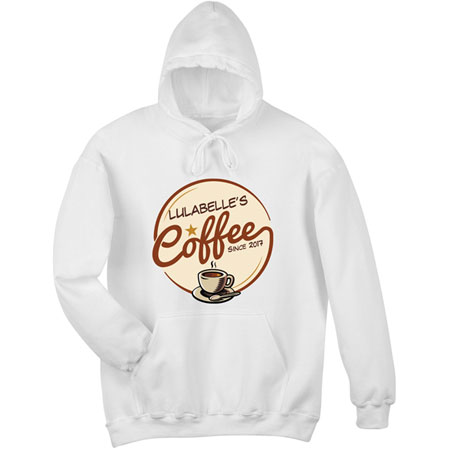 """Personalized """"Your Name"""" Coffee Shop Tee"""