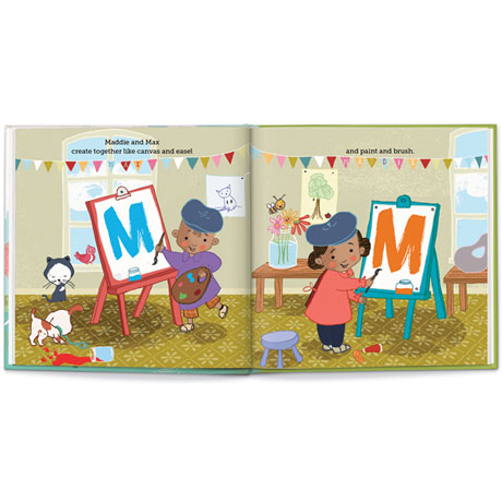 """Personalized """"We Go Together Like..."""" Children's Book"""