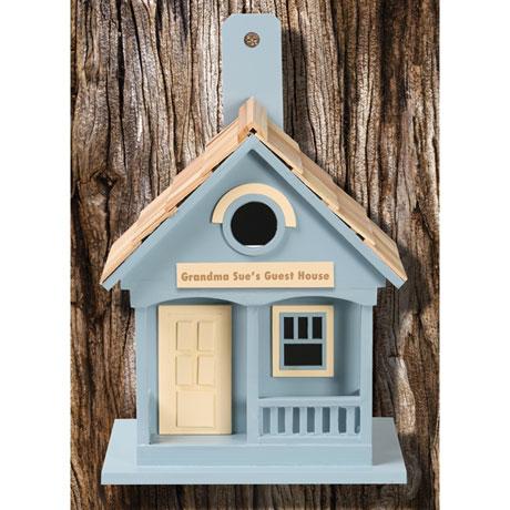 Personalized Cottage Birdhouse
