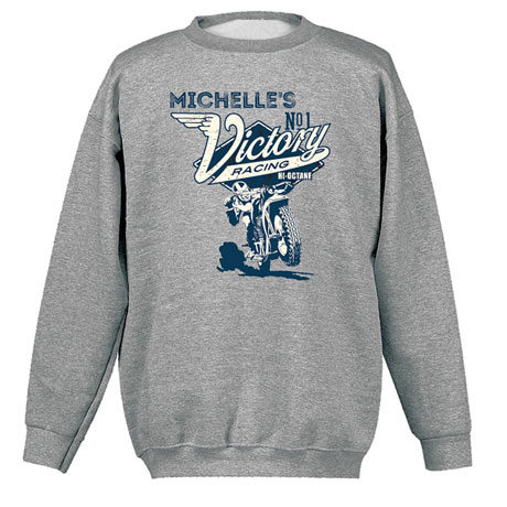 """Personalized """"Your Name"""" Victory Racing Tee"""