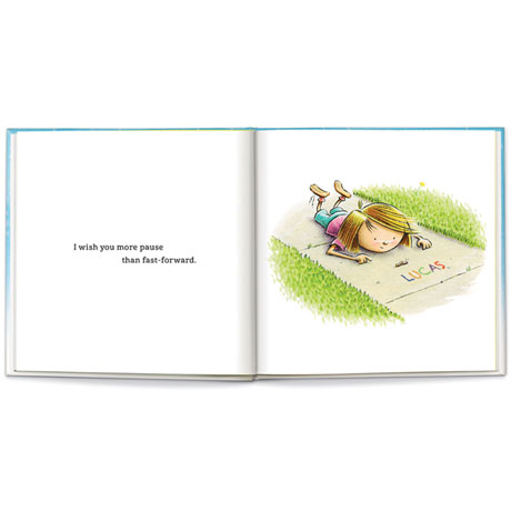 "Personalized ""I Wish You More"" Book"