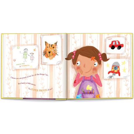 Personalized My Super-Bestest Grandma Story Book