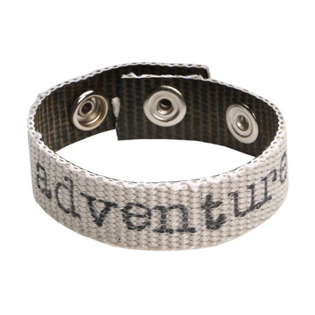 Personalized Recycled Fire Hose Unisex Bracelet
