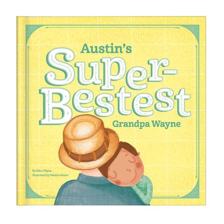 Personalized My Super-Bestest Grandpa Story Book