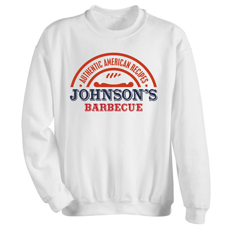 """Personalized """"Your Name"""" Authentic Recipe BBQ Tee"""