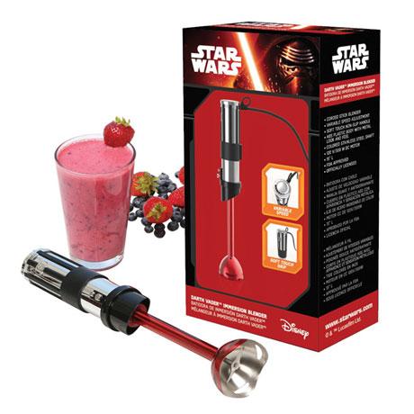 Set of 2 Star Wars Rogue One Darth Vader Lightsaber Handheld Immersion Blenders