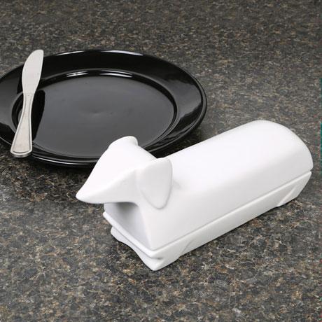Dachshund Butter Dish