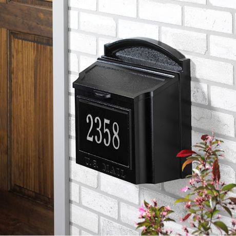 Whitehall Wall Mailbox Package