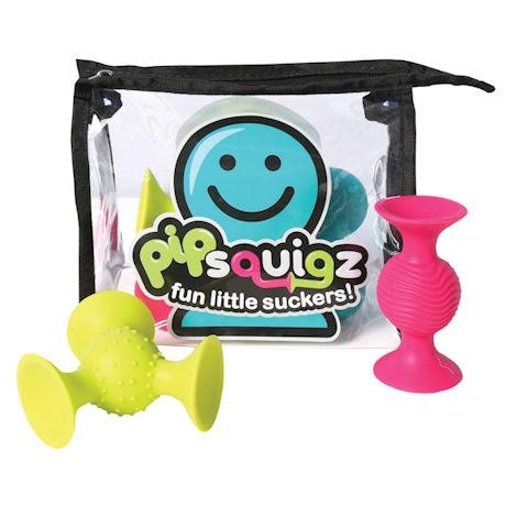 PipSquigz 6-Piece Set with Storage Bag