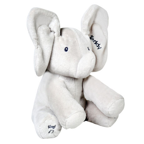 Personalized Flappy the Elephant Talking and Singing Plush