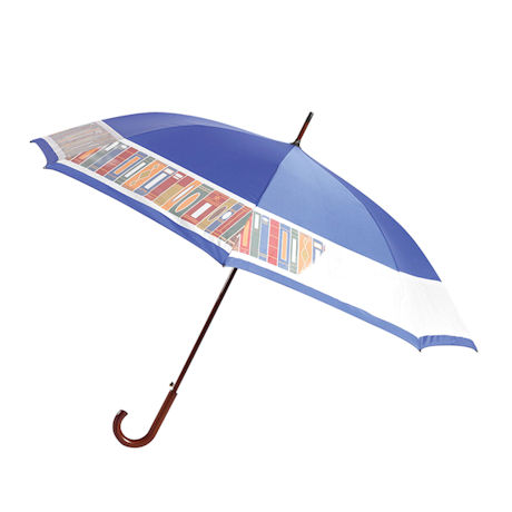 Color-Changing Bookshelf Umbrella