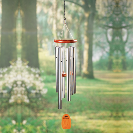 Personalized & Engraved Memorial Wind Chimes That Play Amazing Grace