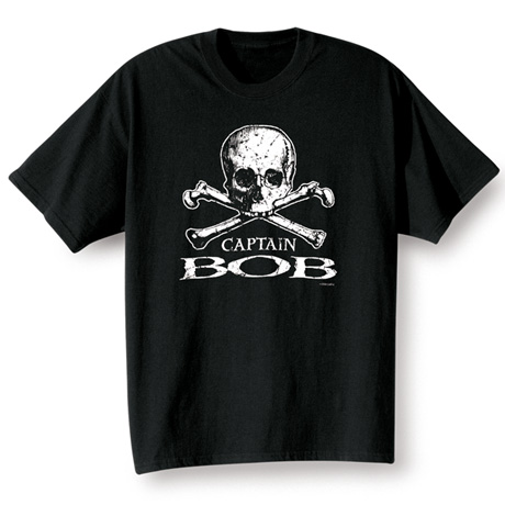 Personalized Pirate Captain Shirt