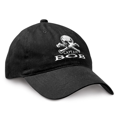 Personalized Pirate Captain Baseball Cap
