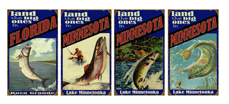 Personalized Lake Signs