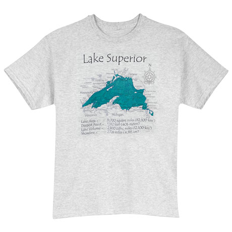 Personalized Lake T-Shirt