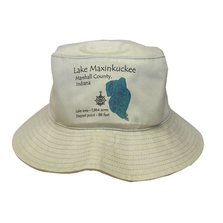 Personalized Lake Art Bucket Hat