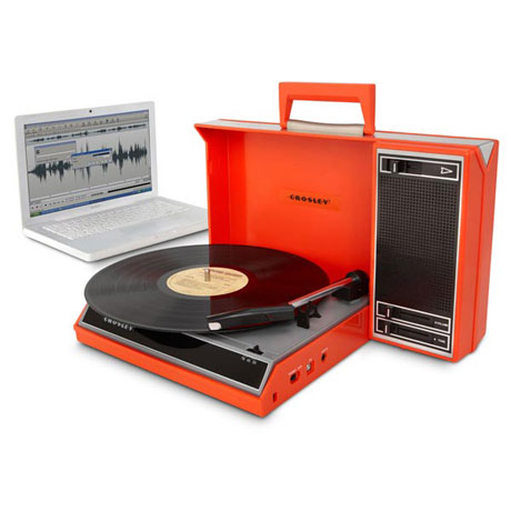 Crosley Spinerette Portable Turntable