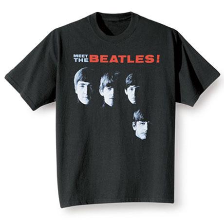 Meet The Beatles T Shirt Album Cover