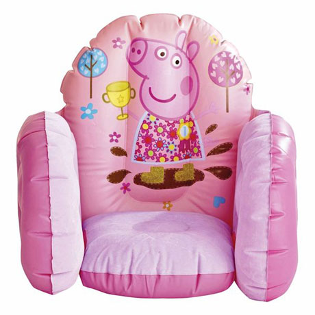 Peppa Pig Inflatable Children's Vinyl Furniture Chair Toy