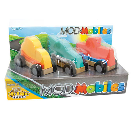 Fat Brain Toys Modmobiles Car Toys Mix & Match Set