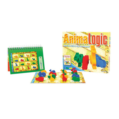 Fat Brain Toys AnmalLogic Sequence Puzzle and Game